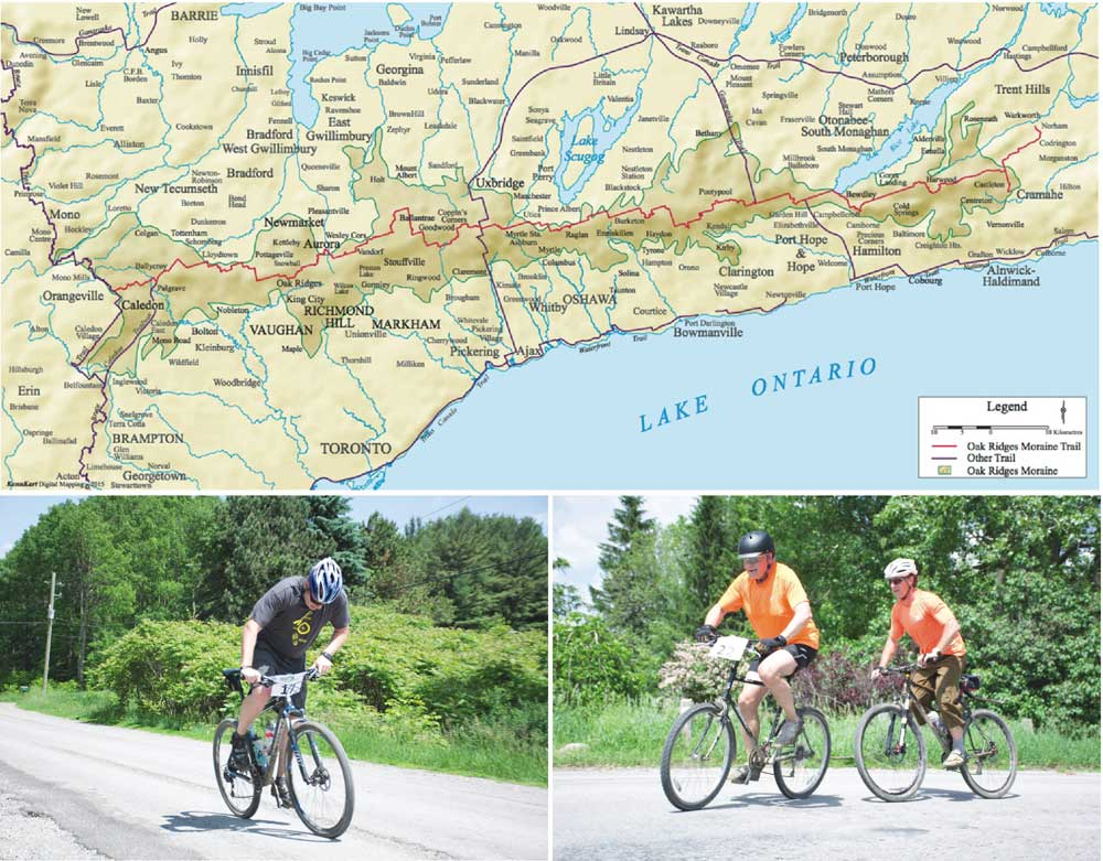 The Oak Ridges Trail Association is hosting its 10th annual Moraine Adventure Relay this summer, which will see participants cycle, canoe, and run across 160 kilometres of the Oak Ridges Moraine. The relay is currently accepting teams, encouraging interested groups to register before the early bird deadline.