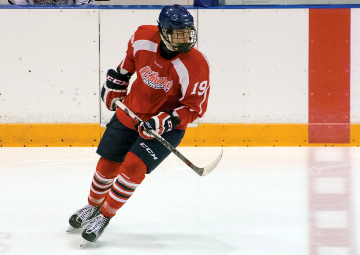 Danil Antropov has committed to the Oshawa Generals.