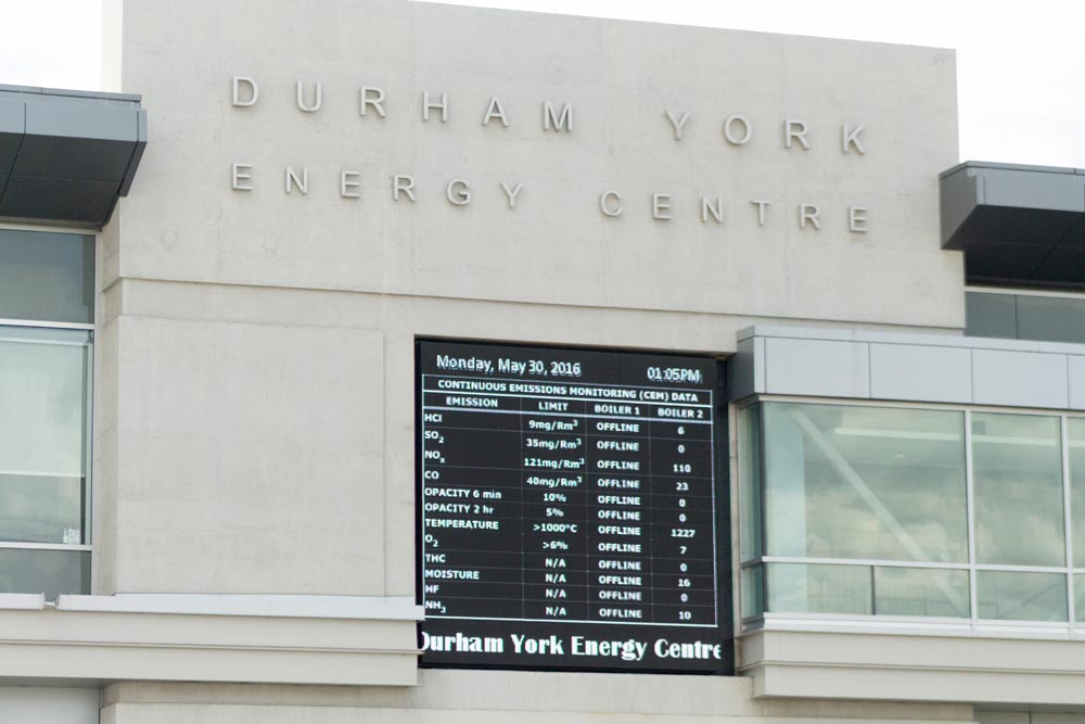 Boiler No. 1 at the Durham York Energy Centre has been taken offline after tests found it was putting out more than 13 times the amount of dioxins and furans allowed under the contract between the region and Covanta, the site's operator. There is no timeline as to when the boiler will come back online.