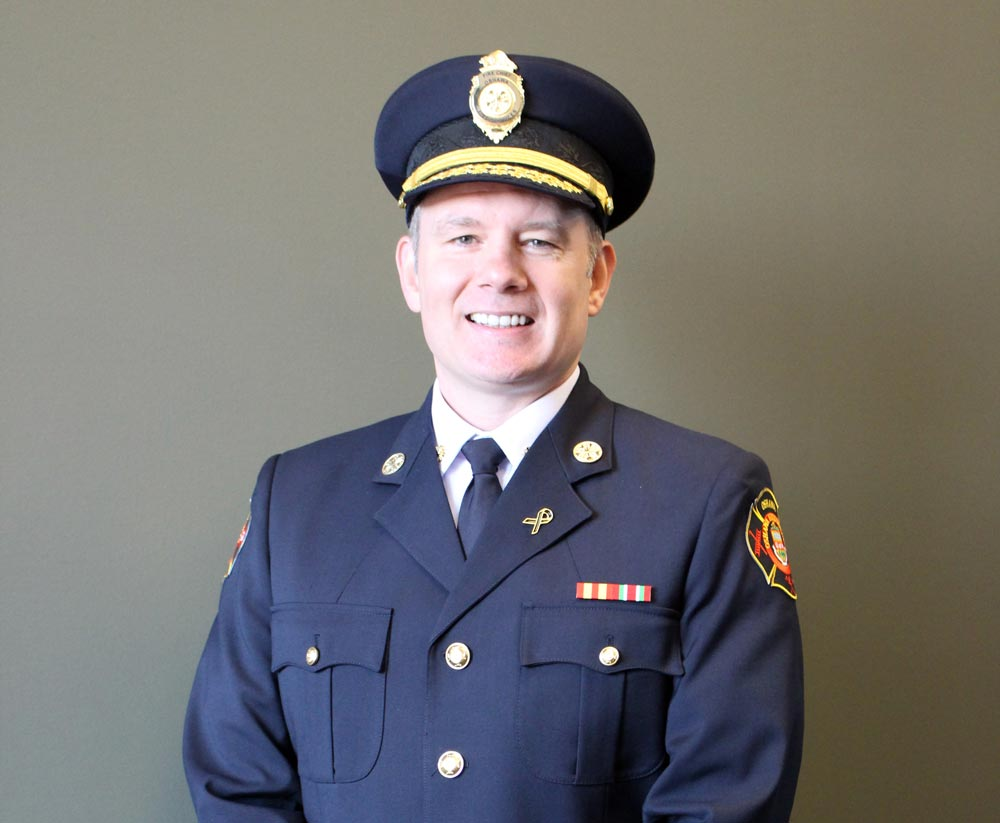 Following unanimous support from council, Shane Caskannette has been named as Oshawa's new fire chief.