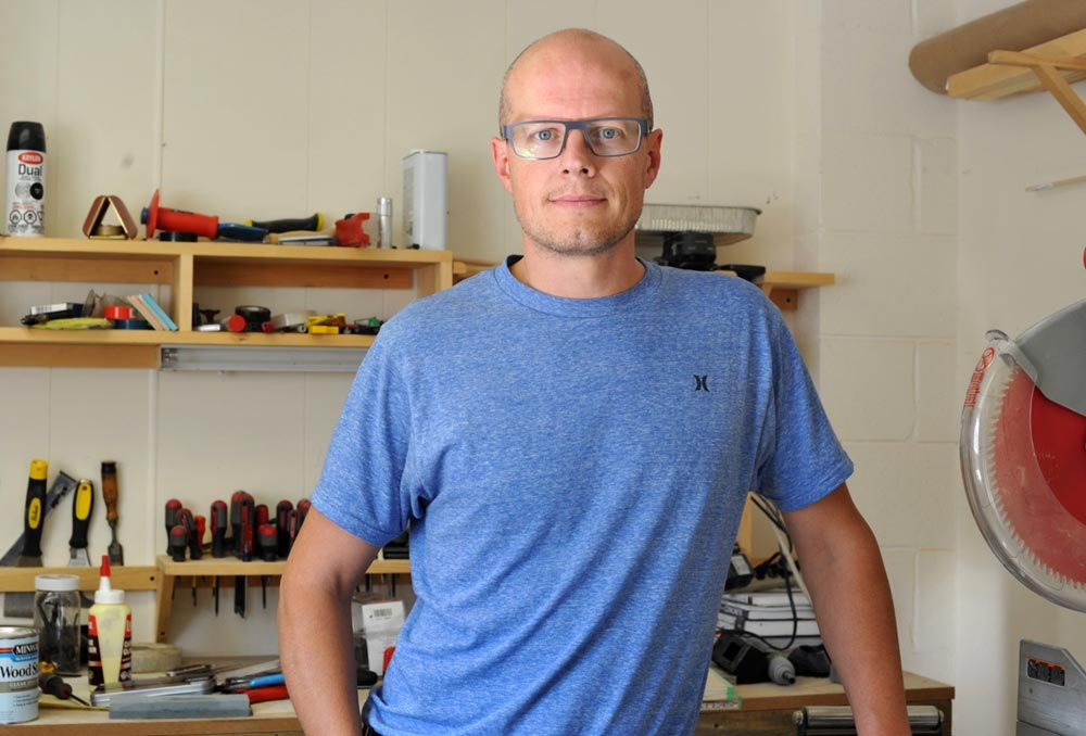 Justin Riley is the CEO of the Maker Garden, a new non-profit organization looking to assist future entrepreneurs build and create their ideas. Riley and his group have launched a new campaign to raise $15,000 to create its first makerspace, which would provide all the tools needed for these efforts.