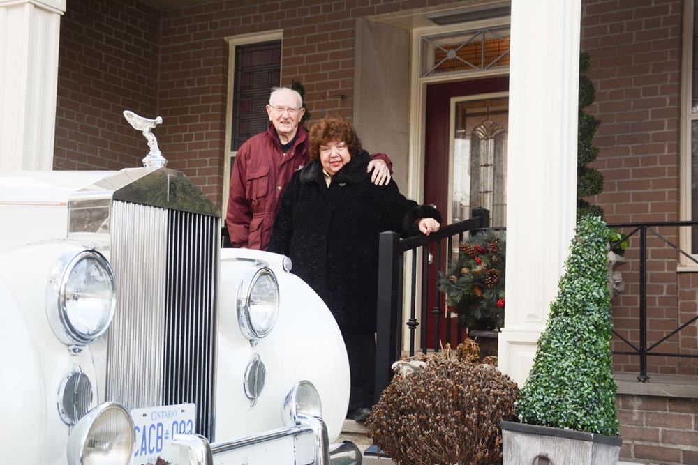 Frank Reilly and Deanna Wright are pulling out all the stops in an attempt to sell their historic home, including hiring a vintage Rolls Royce to sit in front of the property. Most commonly known as the Mrs. Mabel Robson House, the property was constructed for the owners of the Robson & Lang Tannery, one of the city's key industrial operations in the mid-20th century.