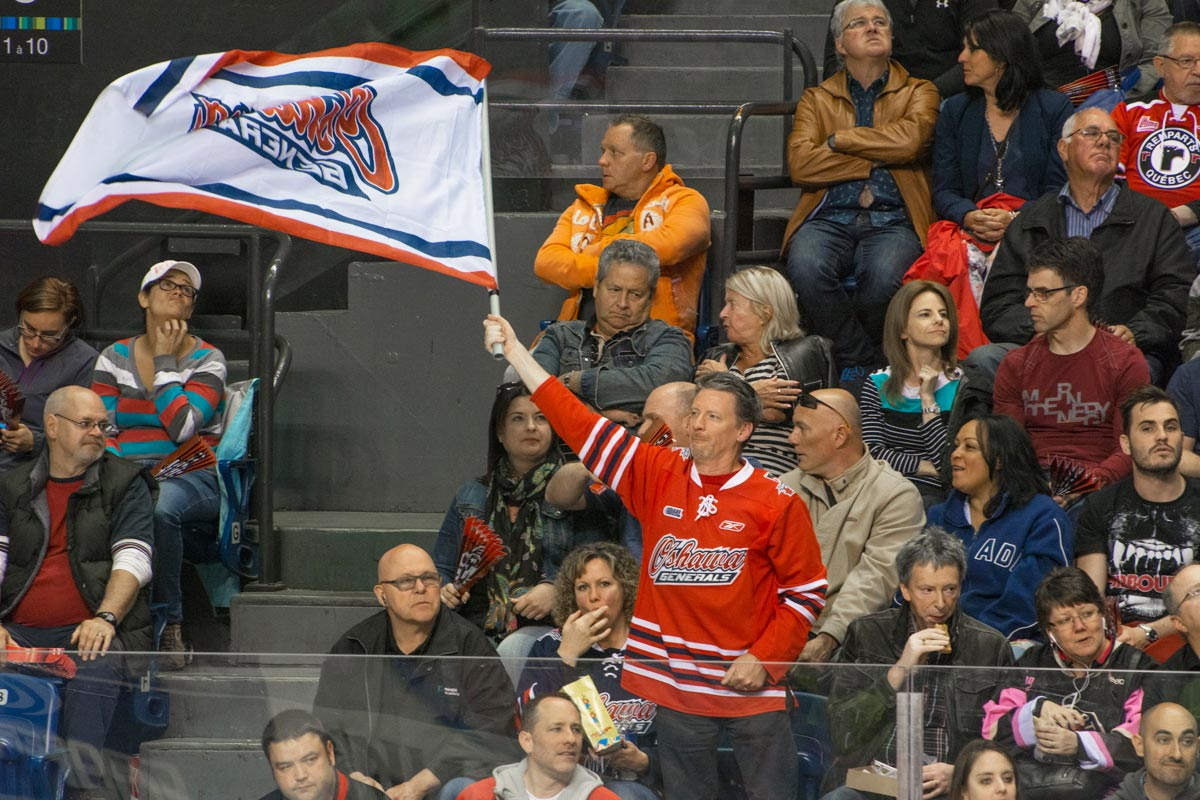 Fans showed up in droves to support the Gens 2015 run for the Memorial Cup in Quebec City, something Gen's administration highlighted for the 2018 tournament's selection committee.