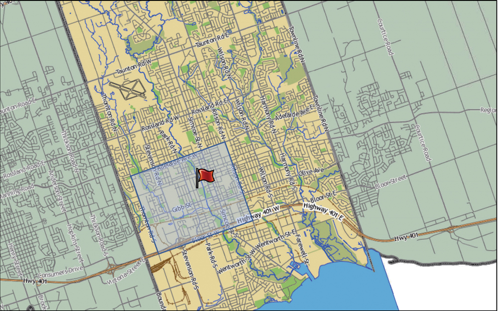 Licensing System In The Works For Driving Schools Instructors In - Map of oshawa streets