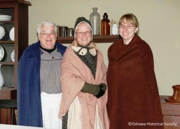 Kay Murray, Kathryn Holden, and Angela Siebarth