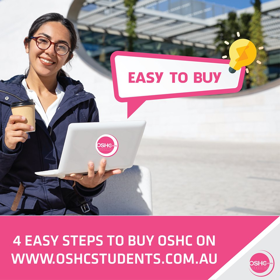 4 easy steps to buy OSHC on www.oshcstudents.com.au