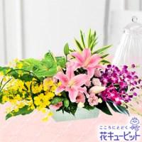 ユリとデンファレのアレンジメント【10,800円】