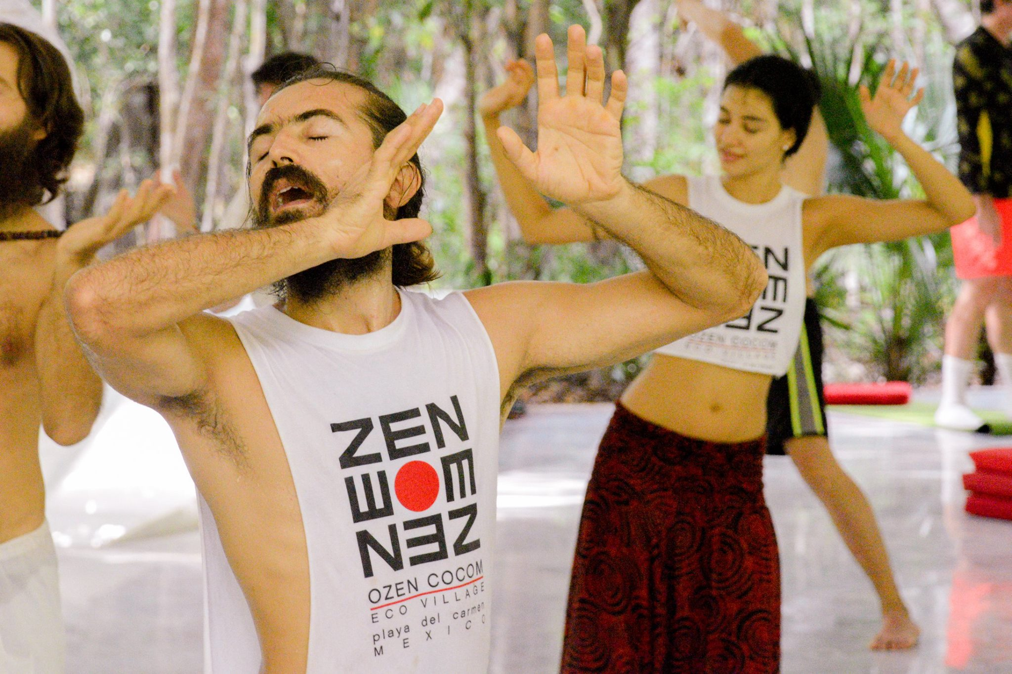 dynamic meditation at ozen resort