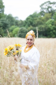 "An Ode to Oshun by the River banks of the River Wandle with the filming of London Lucumi Choir's ""River"" originally sung by Ibeyi"