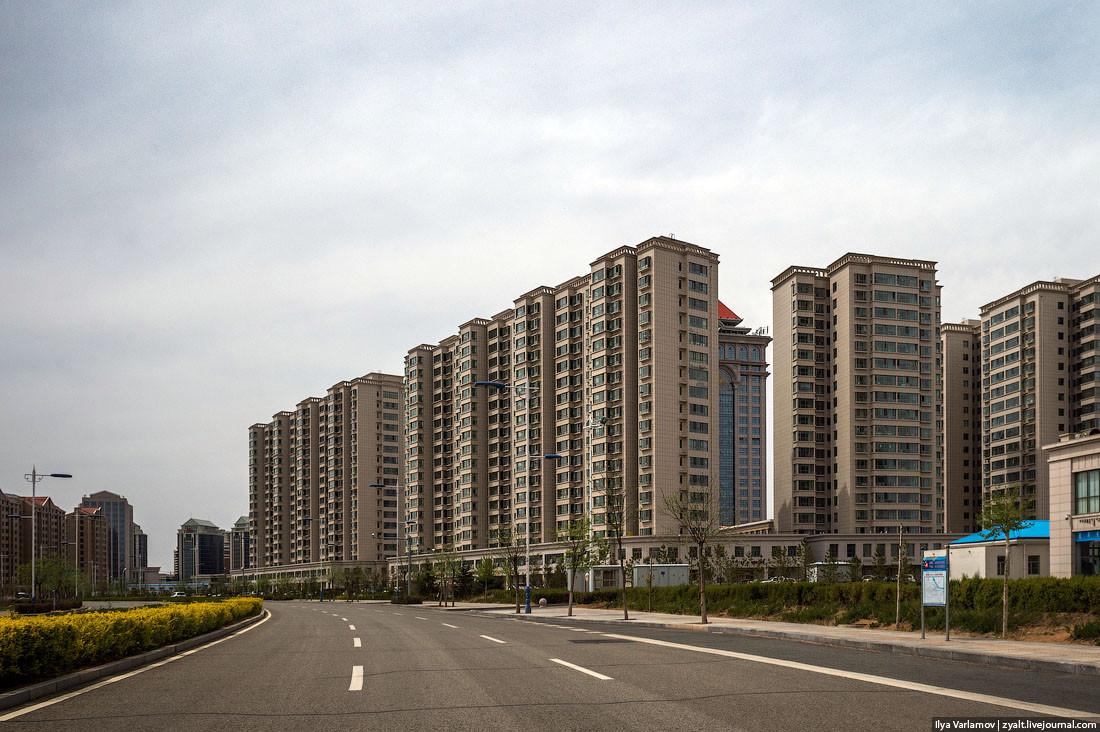 пустые города в китае фото
