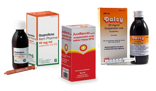 ibuprofeno para bebe