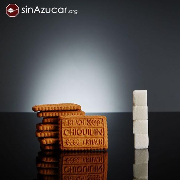¿Es posible no sobrepasar la cantidad de azúcar que recomienda la O.M.S. para consumo diario?