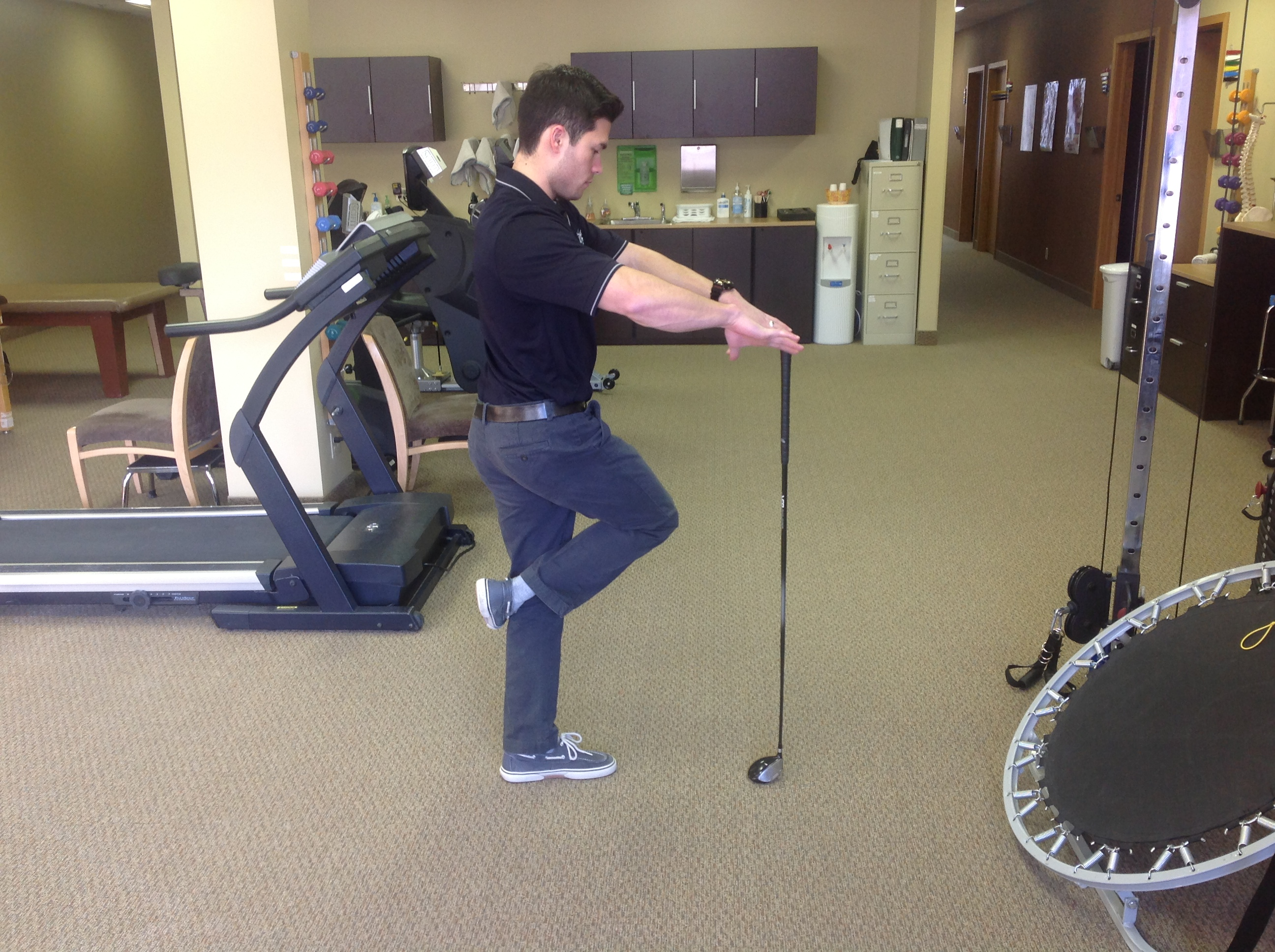 Golf Videoysis And Physical Therapy At Osi