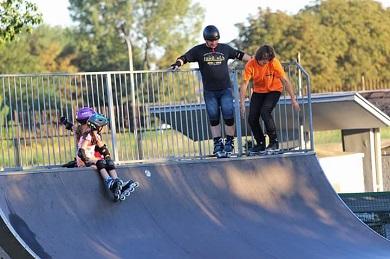 Skatepark OSiR w Będzinie