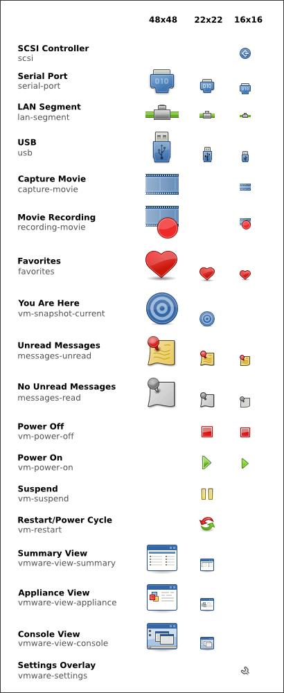 VMware Tango Icons
