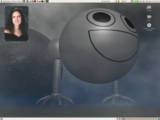 My Ubuntu GNOME Desktop