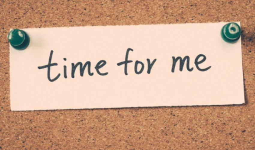 나를 위한 시간 time for me