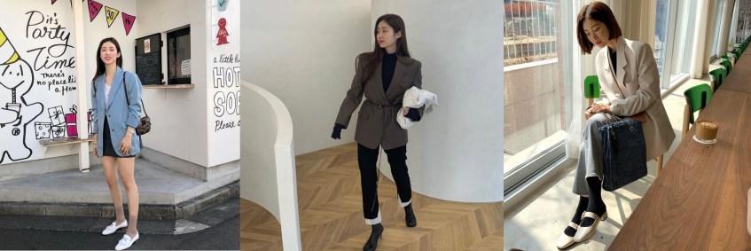 차정원 삽 패션 오버사이즈 자켓