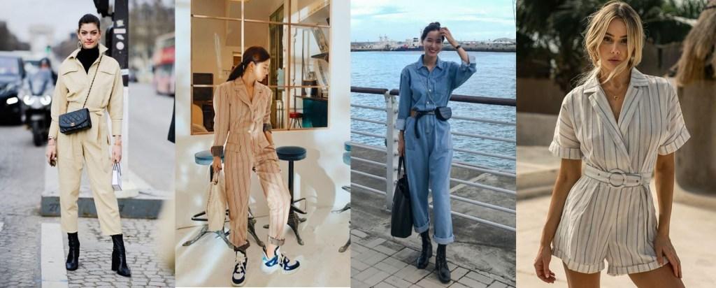 점프수트 패션 코디 다양한 패셔니스타들의 올인원룩 엿보기