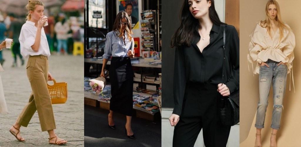 직장인 코디 기본템은 깔끔한 디자인과 컬러의 블라우스와 셔츠, 살짝의 포인트가 있는 것도 좋다