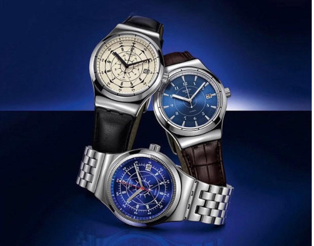 스와치 브랜드는 저렴하고 성능이 좋아 남자 시계브랜드로 추천한다.