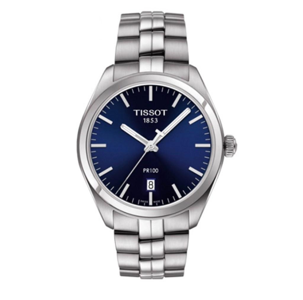 클래식하면서 어디에나 어울리는 TISSOT는 입문용 남자 시계로 추천한다.