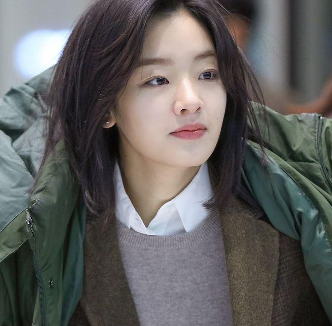 배우 이주영의 내추럴한 짧은머리스타일