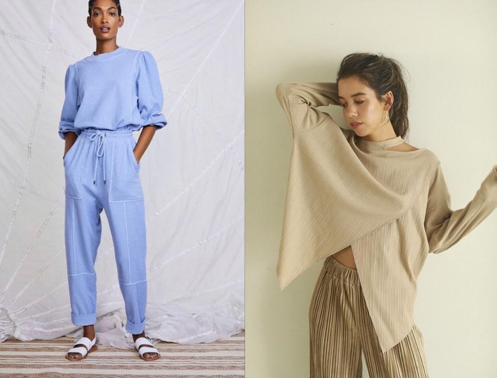 가을 패션 아이템, 재택근무 패션 라운지웨어 투마일웨어