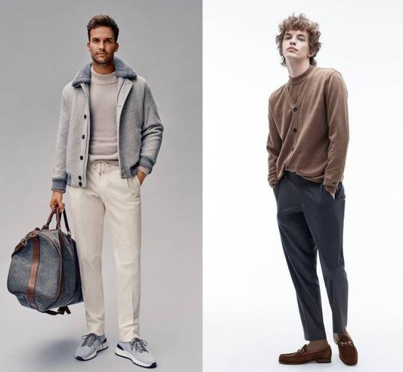 남자 가을 패션 갤럭시 2021 F/W 캠페인 이미지 / 로가디스 2021 F/W 캠페인 이미지