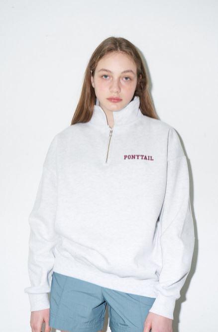 포니테일 ponytail 맨투맨 스웨트셔츠 맨투맨추천 로제맨투맨