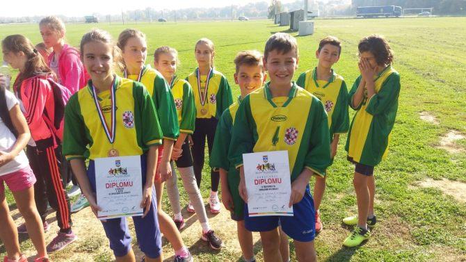 Županijsko natjecanje u krosu osnovnih škola