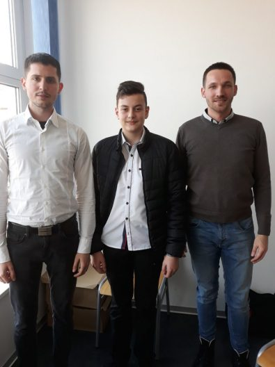 Ivan Cimenman sa profesorima