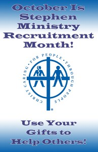 Stephen Ministry Recruitment