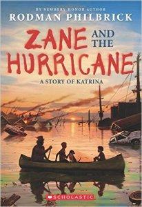 Zane and the Hurricane book cover