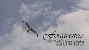 Forgiveness logo - bird in flight
