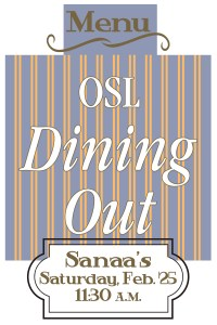 OSL Dining Out graphic