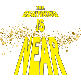 The Beginning Is Near logo