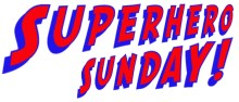 Superhero SUnday logo