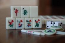 Photo of Mah-Jongg tiles