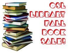 2021 Fall Book Sale graphic