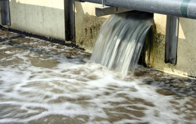 Close up Waste Water Treatment