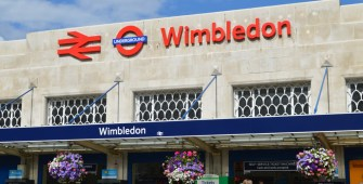 Signalling work at Wimbledon Underground Station