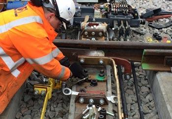 Signalling Works at Bathampton Junction