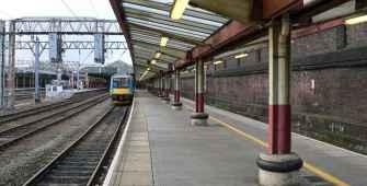 Platform 2 at Crewe Railway Station
