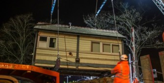 Nantwich Signal Box Relocated to OSL's Railway Exchange Centre
