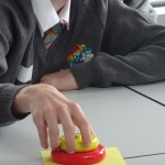 Student at OSL's interactive workshop held at Crewe Engineering and Design UTC