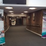 Hallway snapshot of newly opened Crewe University Technical College