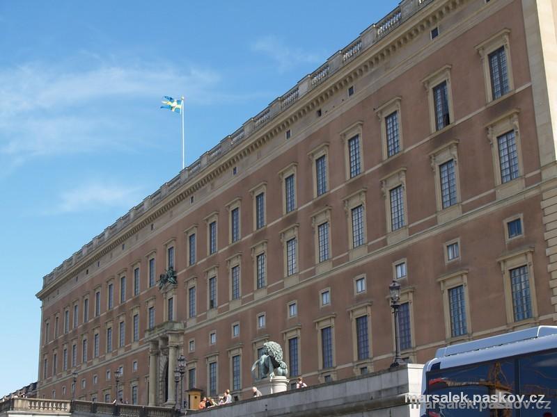 Královský palác ve Stockholmu, sidlo švédského krále