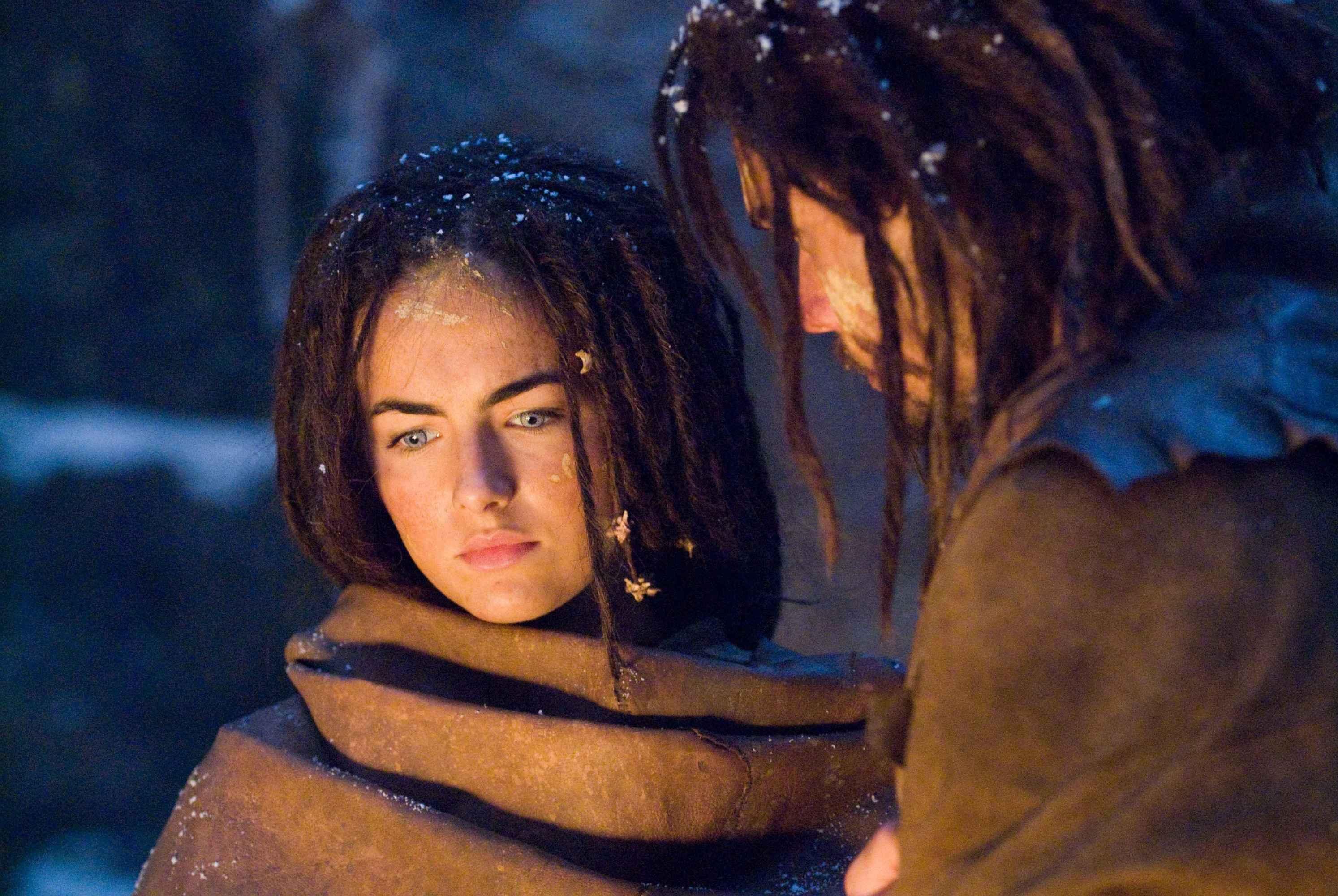 Camilla Belle a Steven Strait ve filmu 10 000 let před Kristem.