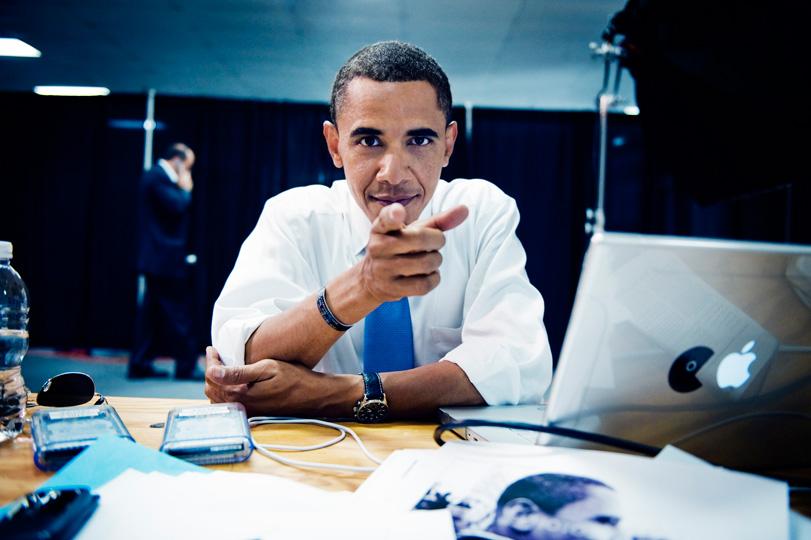 MacBook používá také Obama.